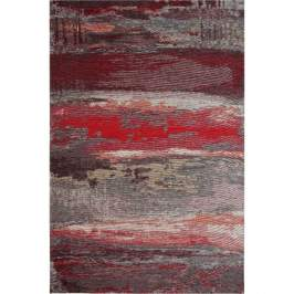 Koberec Eco Rugs Red Abstract, 120x180cm